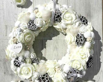 Wreath, Home decoration, Wedding wreath