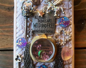 All good things are wild and free/ 3d case/ iphone7 phone cases/ custom
