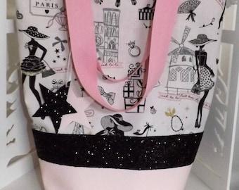 """Large collection """"La Parisienne"""" tote bag!"""