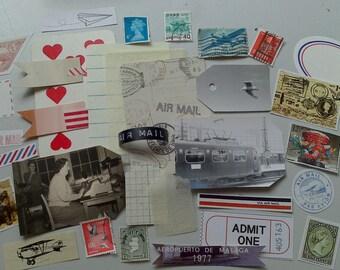 Vintage Air Mail Package