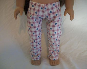 Pajama Pants for American Girl Doll