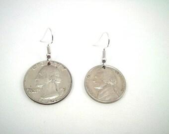 American asymmetrical earrings