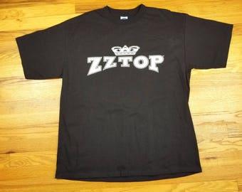 Vintage Double Sided 90s ZZ Top Concert Tour T shirt Size XL
