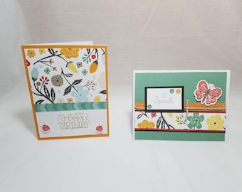 Happy Bugs Greeting Card Set of 2