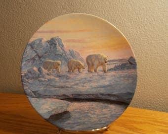 Arctic Journey Alaska The Last Frontier Hayden Lambson WS George Collector Plate