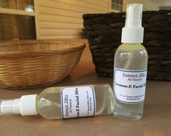 Lemon-E Facial Mist, Naturally Uplifting Facial Spray