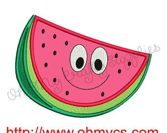 Happy Melon Applique Design
