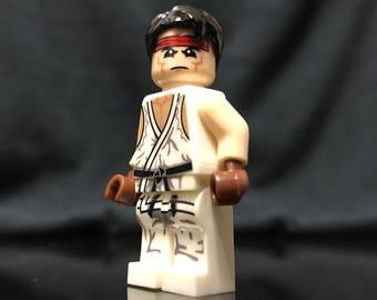Ryu Street Fighter Custom Minifigure Set
