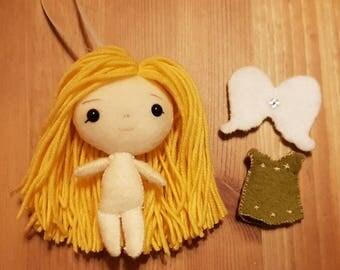 Kawaii Custom Plush, Angel Doll, Doll Plush