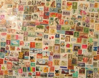 Unique Stamp collage
