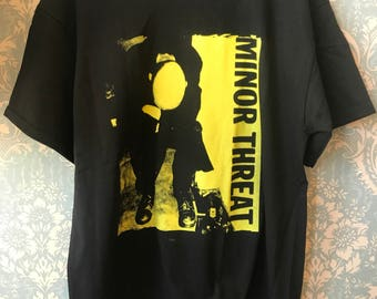 Minor threat T-shirt