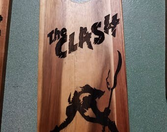 The Clash Acacia Serving Board