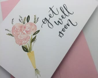 get well soon card, feel better