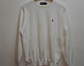 Vintage Sweatshirt Polo By Ralph Lauren small logo /Hip-hop/Japan/ polo bear