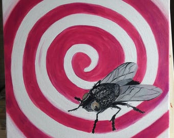 Magnificent fly, art by KondArt