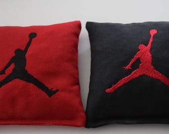 Michael Jordan Basketball Embroidered Cornhole Bags Set of Eight Regulation Bags - Sweet!
