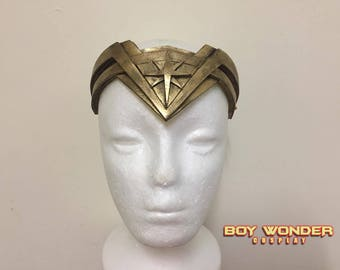 Wonder Woman Tiara Headband 2017 (Handmade)