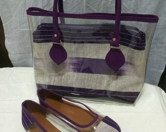 Locally handmade high end handbag/ purse/ shoes/ ballerine