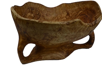 Olive Wood - Large  Bowl