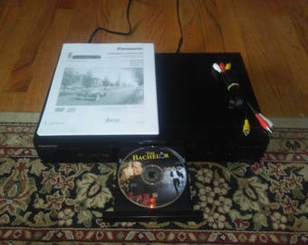Panasonic DVD-RV30 DVDRV30 Dvd-Video/Video CD/CD Player with Digital Cinema Mode and 2-Channel + Bass Output