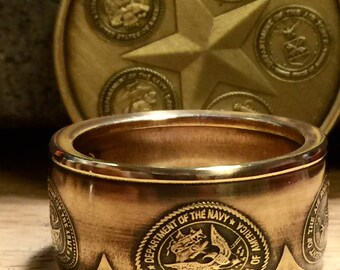 Justice for Veterans Medallion Ring