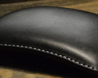 Pillion Seat Pad for Harley/Bobber Black Vintage 2