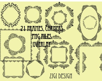 Frames With Lace Etsy