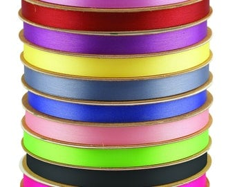 "Satin Ribbon Roll 9/16"" x 100 Yards"