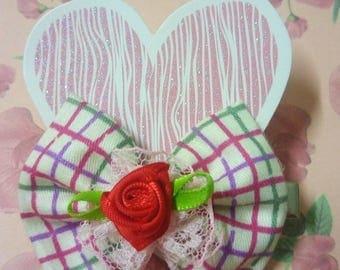sweety handmade hairclip for sweety girl