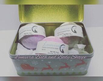 Bath Bomb Gift Set - Sampler Kit