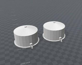 x2 - Petroleum Tanks