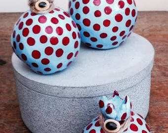 ceramic pomegranate / home decoration