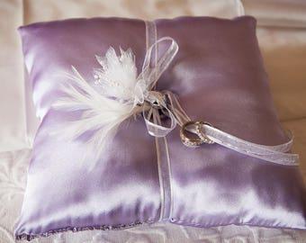 Lavender Ring Pillow