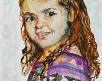 Children & Family Portraits - Watercolor