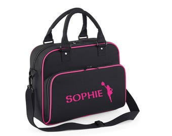 iLeisure Girls Personalised Name Single Cheerleader Kit Bag.