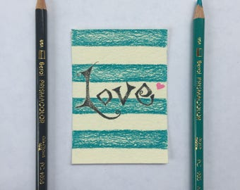 Original Art Card - Love