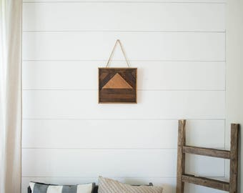 Butternut & Reclaimed Cedar Boho Wall Decor
