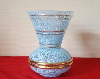 Clichy opaline vase