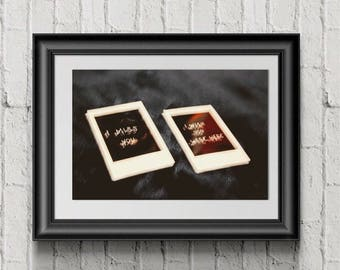 Polaroid Pictures; Wall Art, Photography