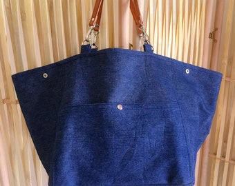 Bag 'soline' * blue jean