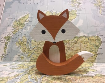 Reclaimed wooden fox