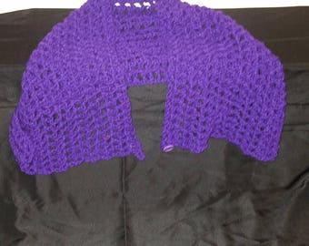 Purple Shawl 36in Long