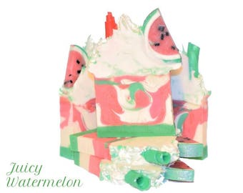 Juicy Watermelon - Handcrafted Soap/Artisan Soap