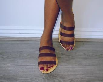 Nkilisi Leather Slippers