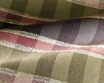 Fall Plaid With Gold Upholstery Fabric- Eastern Accents