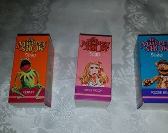 Collectable Avon Muppet show novelty soap//Brand new and unused in original boxs