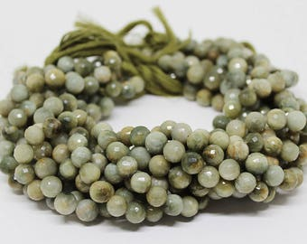 Top Quality Cats Eye Faceted Round Gemstone Beads Strand 14 inches 9 mm