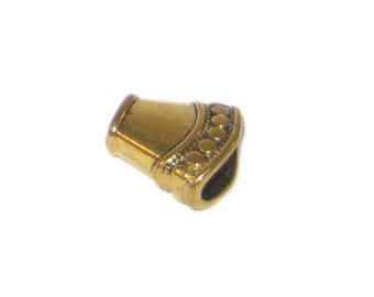 16 x 14mm Gold Metal Cone - 2 cones