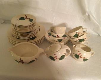Vintage Blue ridge southern ceramic pottery  dishes