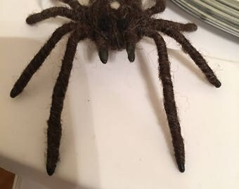 Needle Felted Wool Spider Male